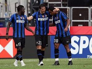 Muntari, Milito, Mancini